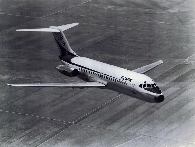 Ozark Airlines DC 9