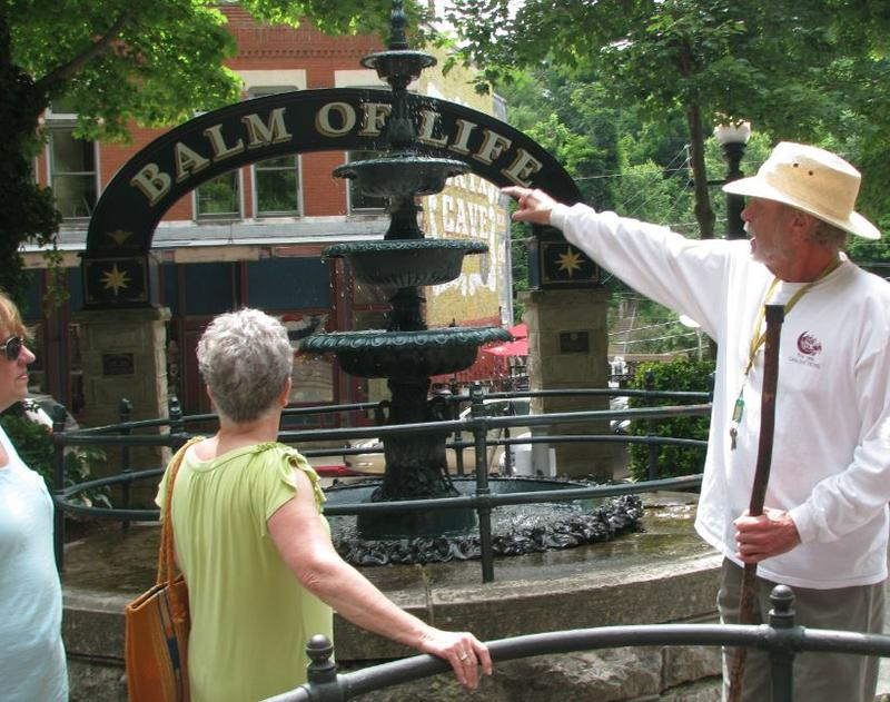 Ralph Wilson Explains the History of Eureka Springs