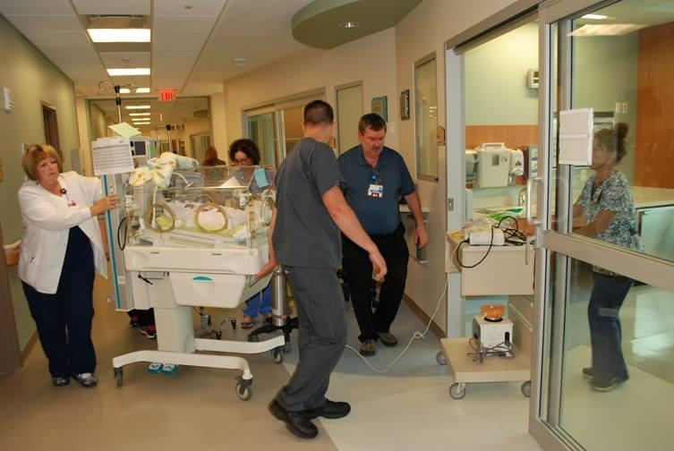 NICU Patients Moved to New Tower