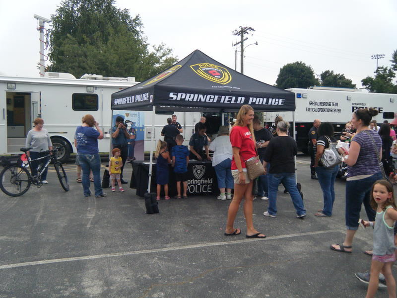 Springfield Police Department at National Night Out