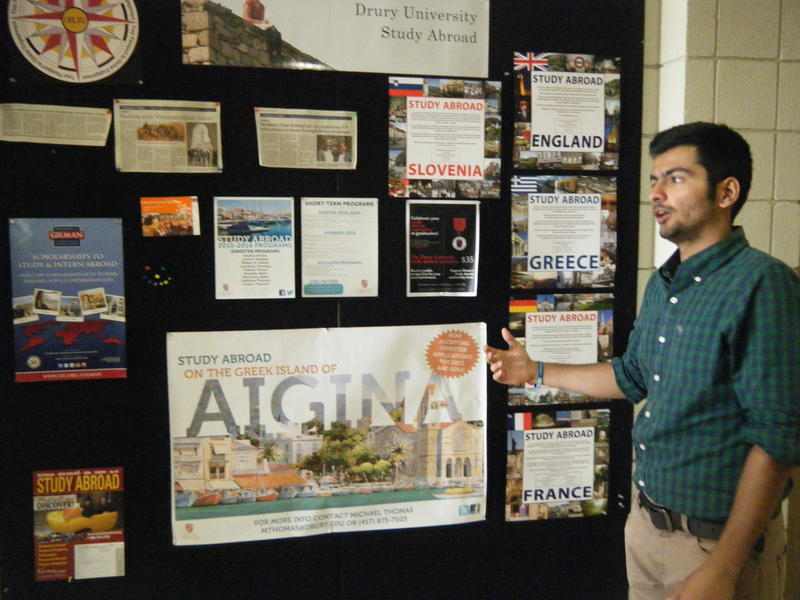 Vic Jagwani shares about the study abroad opportunities at Drury.