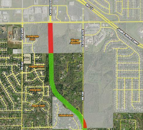 Kansas City Expressway Extension Springfield Mo