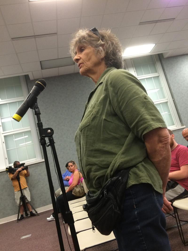 With a Heavy Brooklyn Accent,This Unidentified Woman Comments to the POST Commission