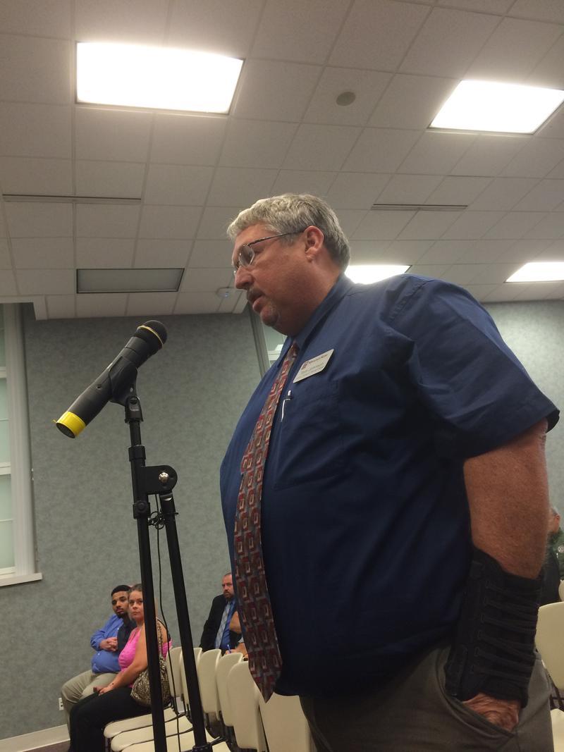 MSU Director of Safety and Transportation Tom Johnson