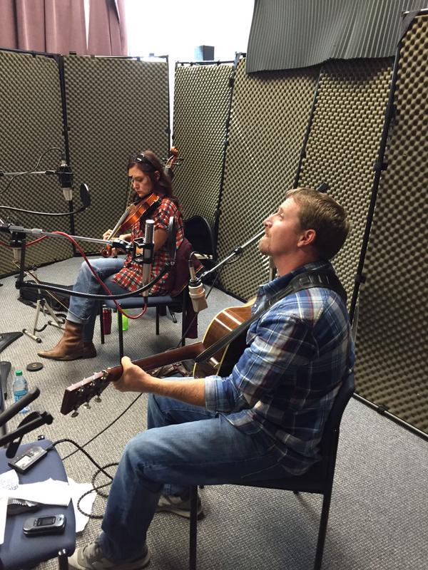 Dallas Jones and Molly Healey on Studio Live