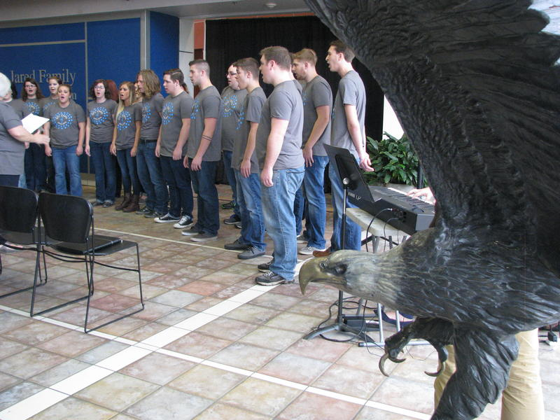 OTC Choir Performs Under the Direction of Alberta Smith