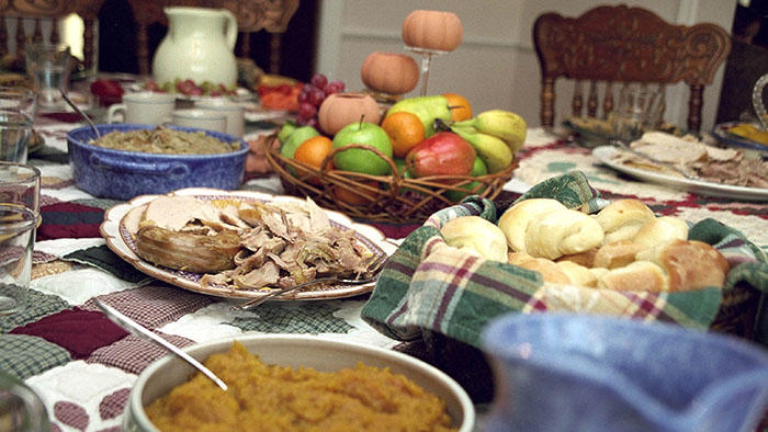 Traditional Thanksgiving food