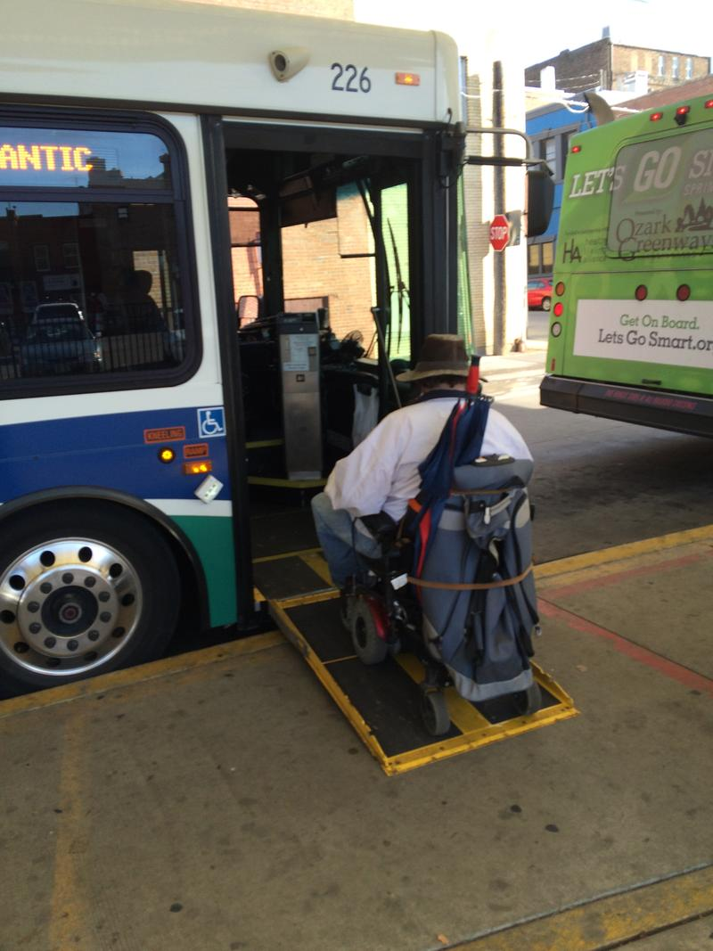 Services for the Disabled are Available on the C.U. Transit System
