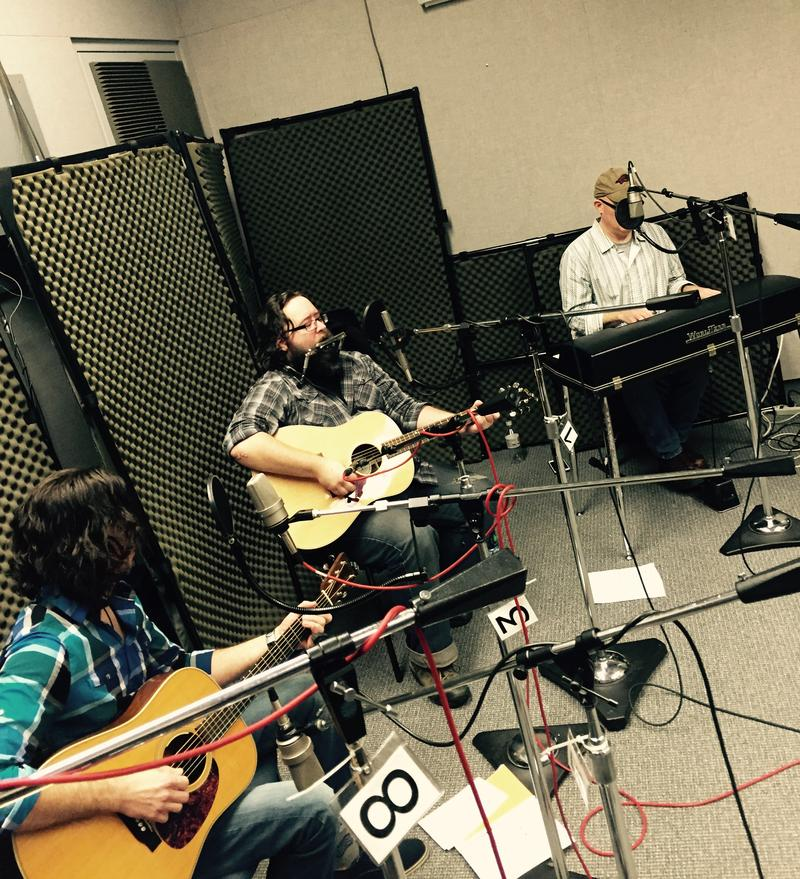 Mike Henderson, Barak Hill and Jody Bilyeu of the Hurricanes on Studio Live
