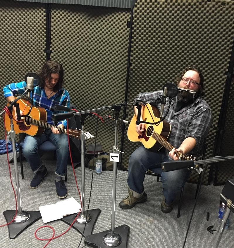 Mike Henderson and Barak Hill of the Hurricanes on Studio Live