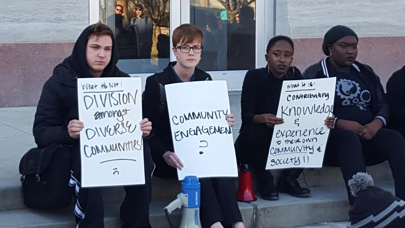 Student Protests at MSU