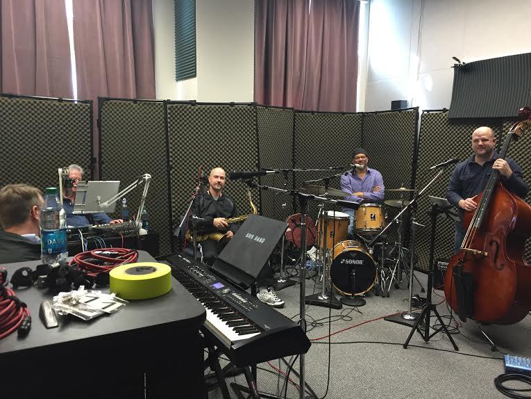 The Haus Jazz Band on Studio Live