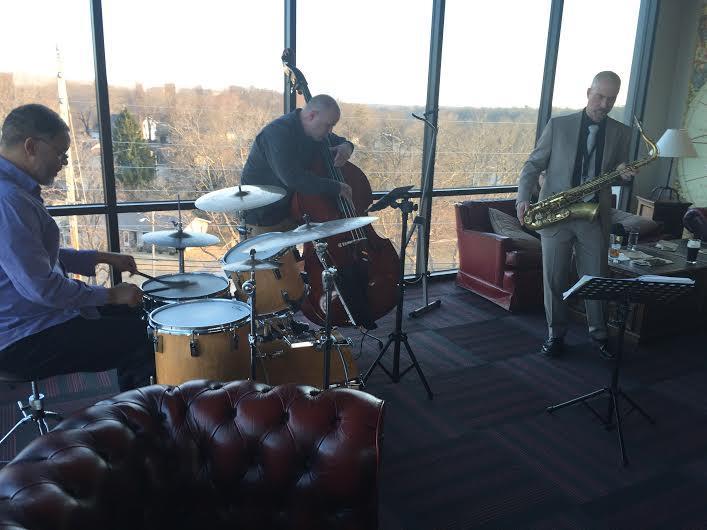 The Haus Jazz Band at Studio Live Social Hour at Barley Wheat & Rye