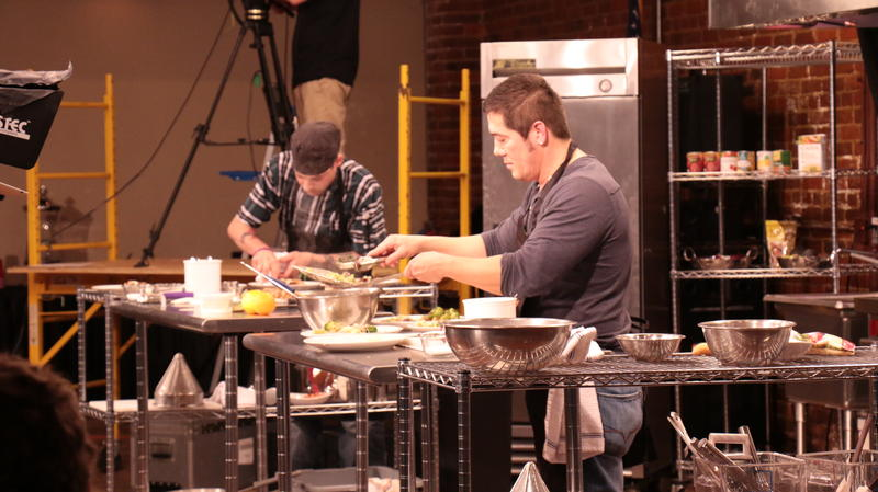 Behind the scene of Show-Me Chefs