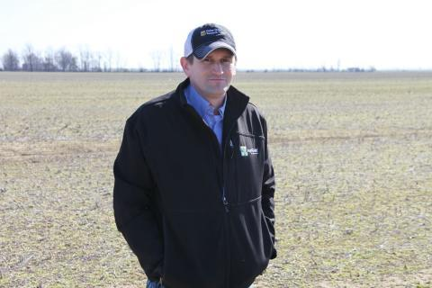 Missouri cotton farmer Justin Rone plans on adding 25 percent more cotton to his fields this year, as prices are down for soybeans and corn.