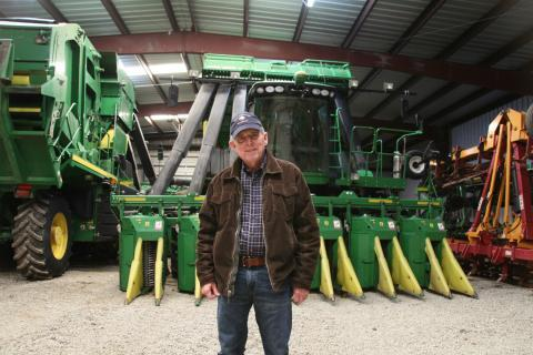 Cotton grower Charles Parker plans on adding more acreage this year in hopes of stronger demand for American cotton.