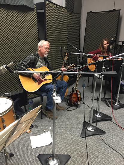 Bo Brown and Emily Higgins of Auntie Em and the Tornadoes on Studio Live