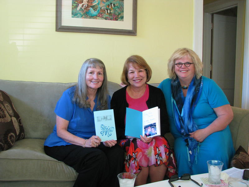 Left to Right:  Billie Holladay Skelley, Peggy Fuller, Ann Leach