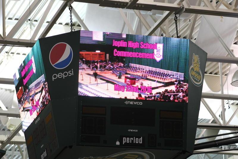Joplin High School Commencment 2016