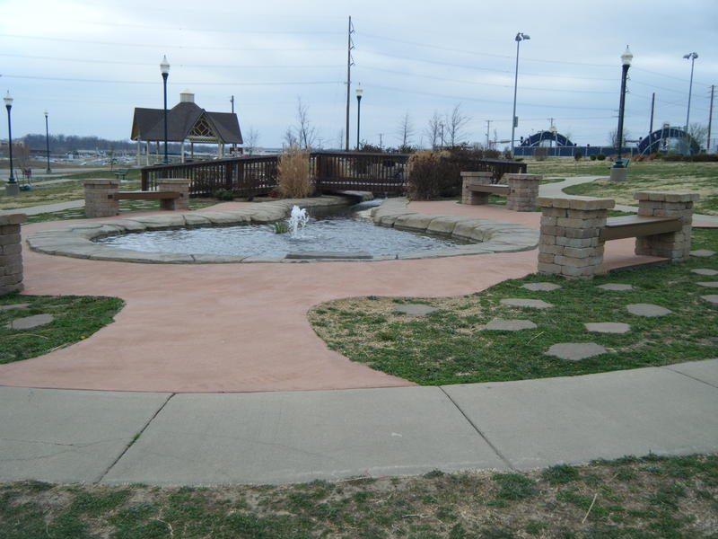 Cunningham Park-Ground Zero-present day site to many memorials and tributes