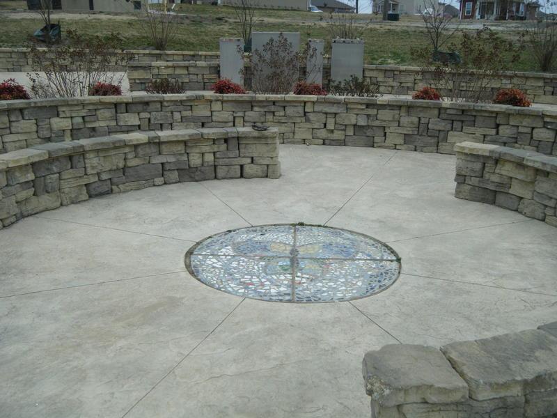 Volunteer memorial at Cunningham Park