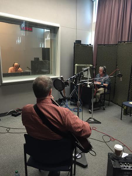 Randy Buckner on Studio Live with engineer Doug Waugh and co-host Randy Stewart