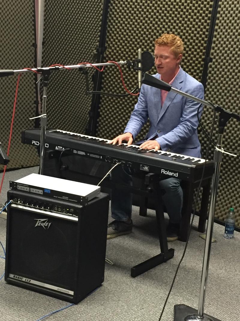 Brett Johnston of Wild Bob's Musical Book Club on Studio Live