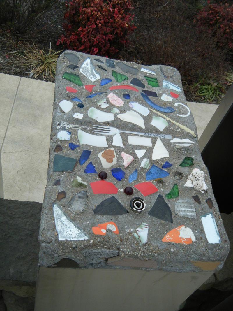 Wreckage made art