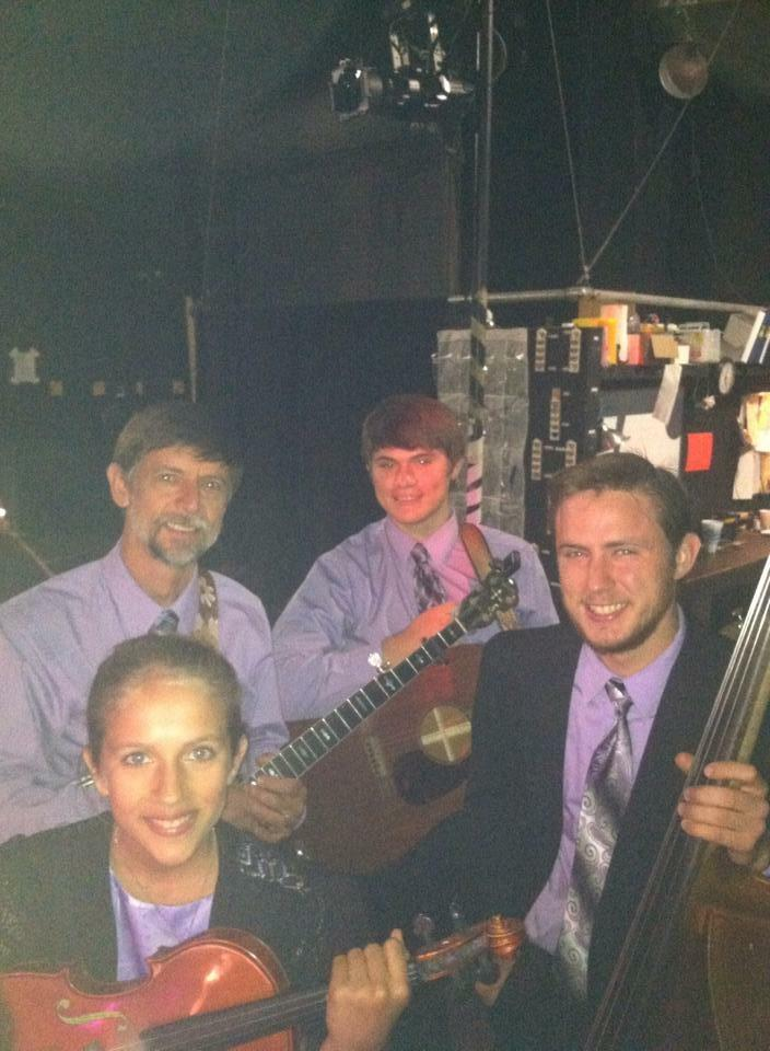 The Farnum Family Prior to Their 2014 Performance