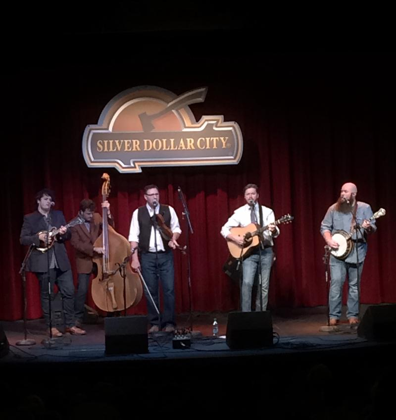 Volume 5 With Harry Clark on Mandolin and Jed Clark on Bass, at Silver Dollar City's Riverfront Playhouse, May 2016