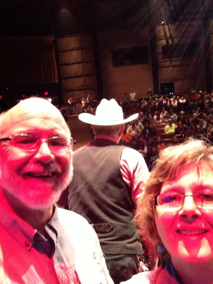 A 2015 Selfie With Backstage Bluegrass Mom Cindy Clark