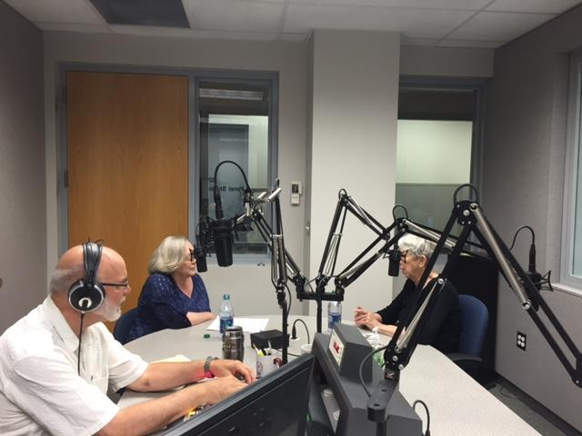 Suzy Gray and Jan Horton Join Mike Smith in the KSMU Studio