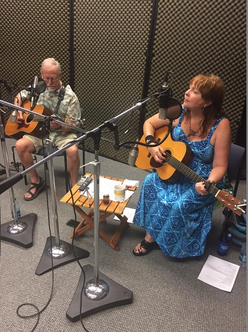 Melinda Mullins and Bo Brown on Studio Live