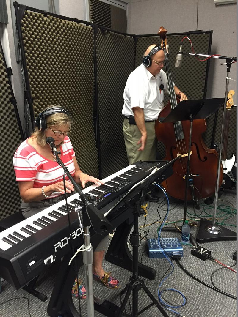Sheila McDowell and Steve Samuelson of the Sounds Pretty Good Combo on Studio Live