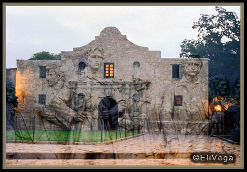 """Heroes of the Alamo"" by Eli Vega"