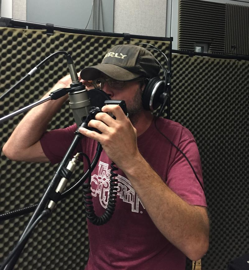 Danny Maple of Vultures of Chaos County on Studio Live