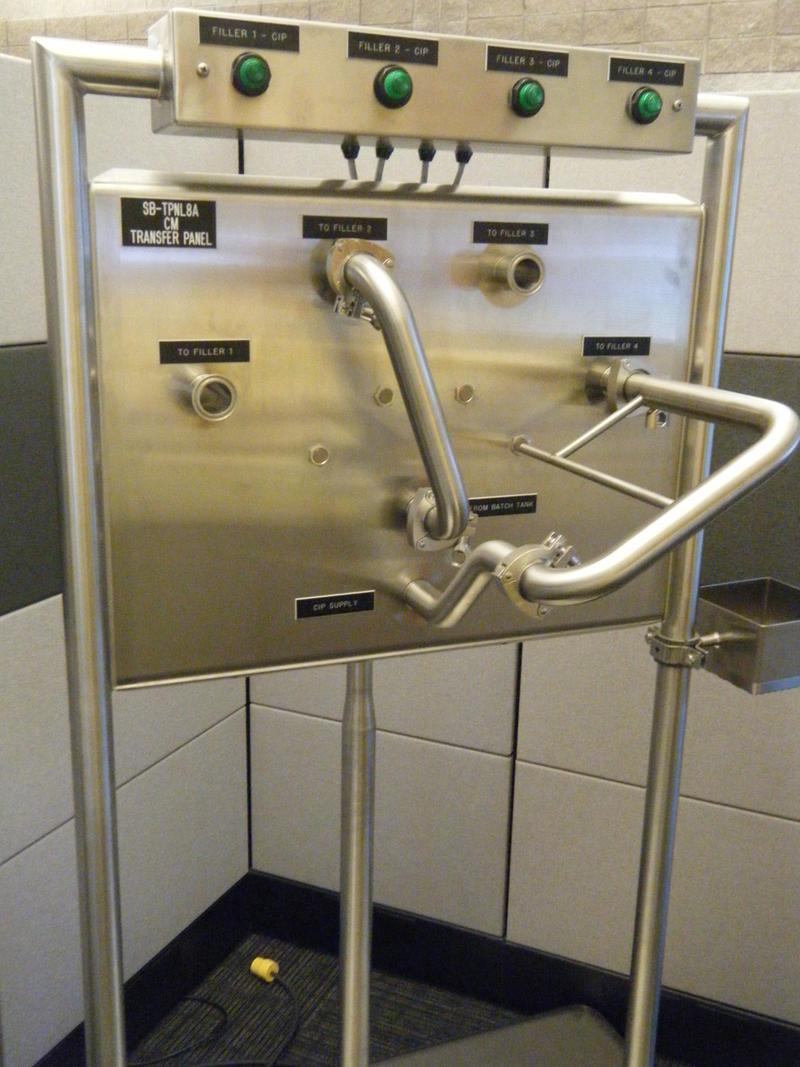 CSI transfer panel