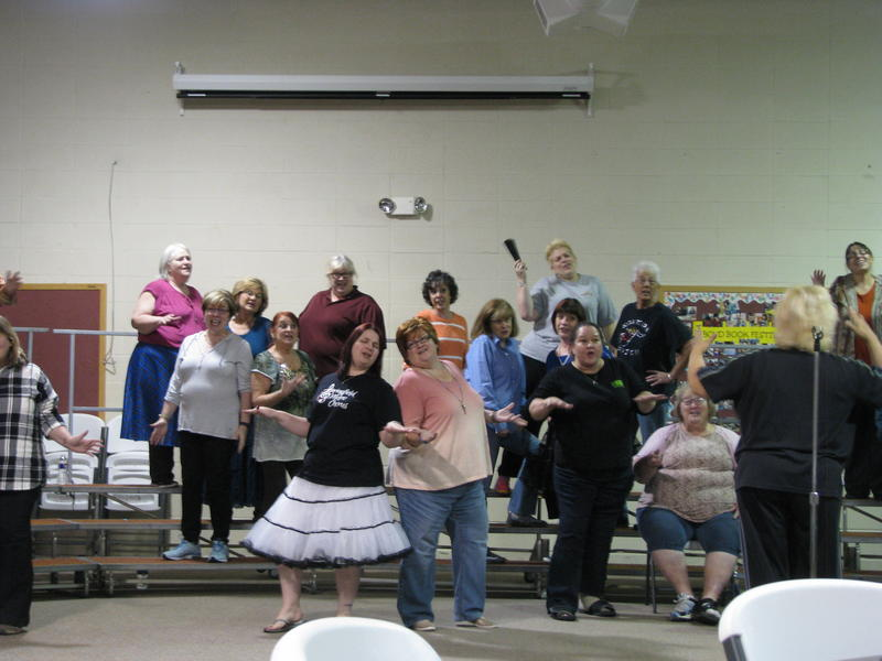 Springfield Metro Chorus Rehearses