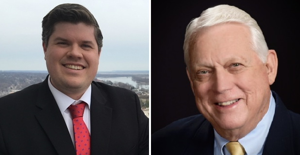 Curtis Trent (left) and Jim Clemmons face off for Missouri House District 133
