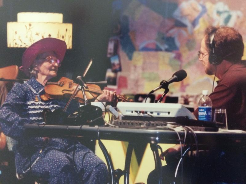 Violet Hensley Was a Guest on Whad'ya Know? With Michael Feldman,  Sept. 1999