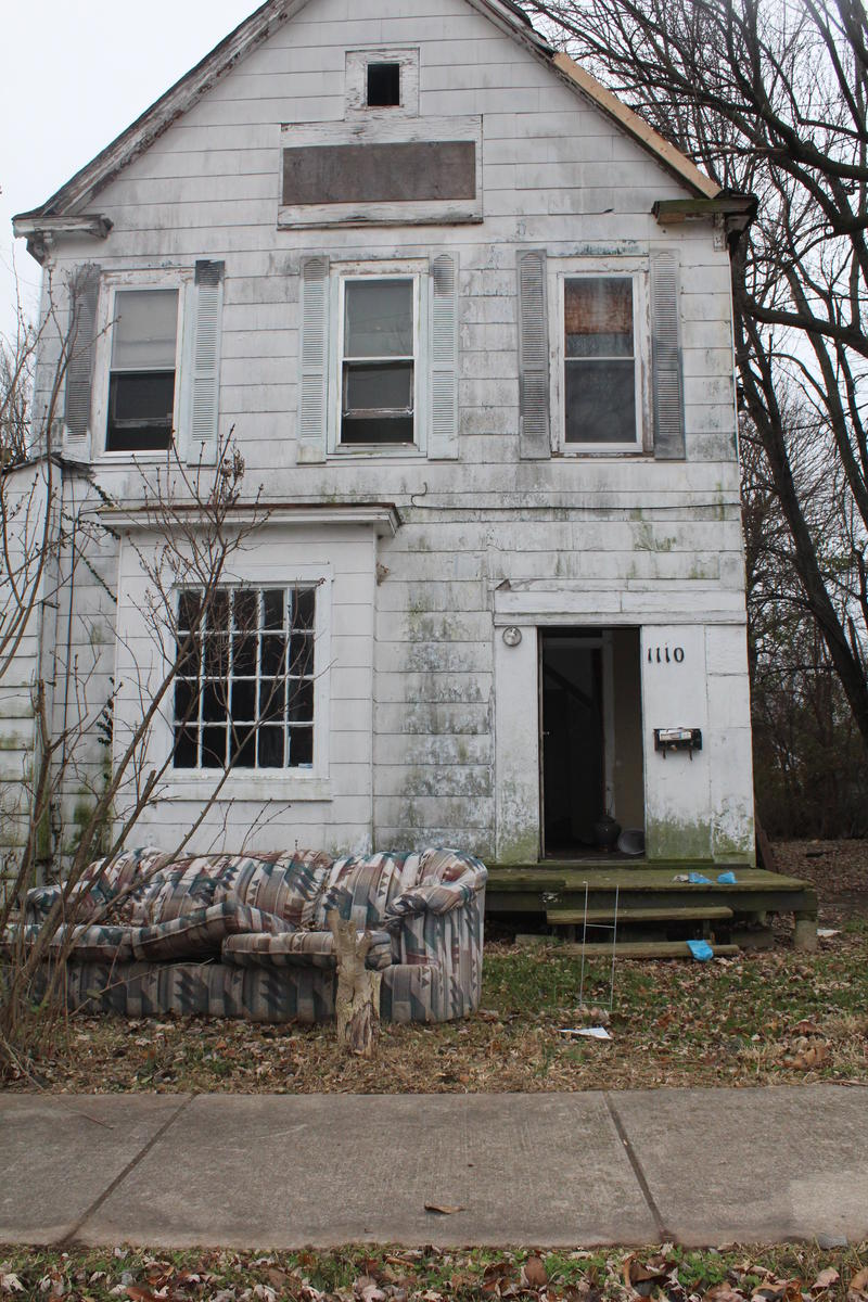 Uninhabited House on W. Hamilton