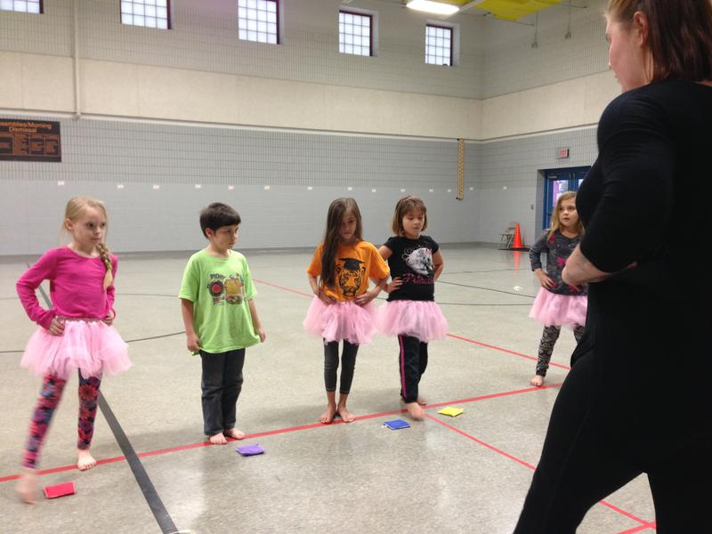 McGregor Elementary Dance Chance kids going through their paces.