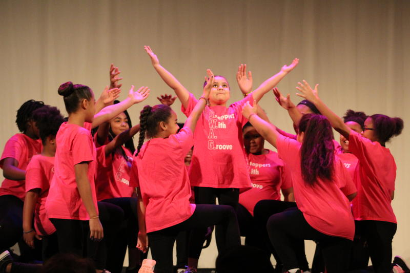 SWAG, Steppers With a Groove, Perform at the MLK Jr. Rally at the Gillioz