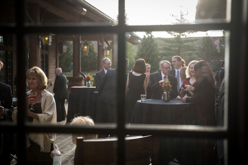 Looking at courtyard reception before 2016 event