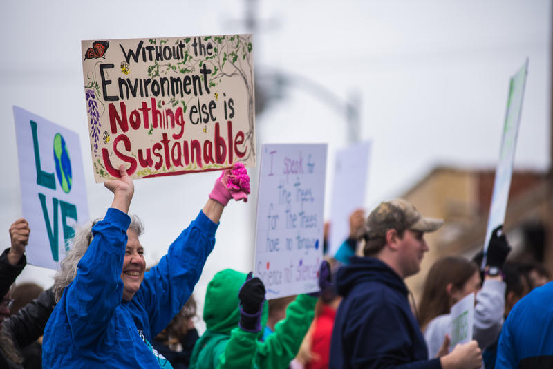 Many created various signs for the march all which promoted science.