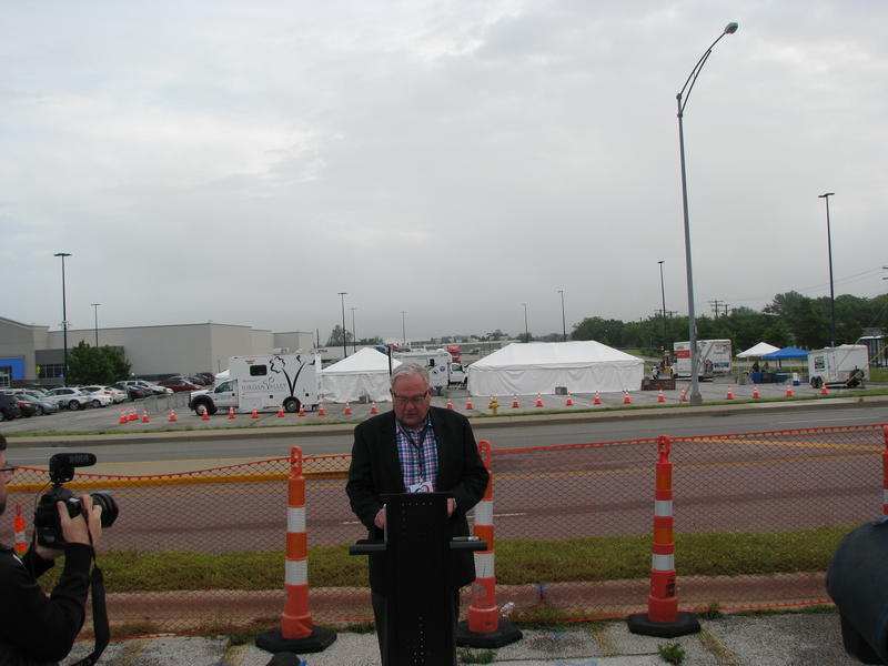 Jim O'Neal, Board Member of the Ozarks Alliance to End Homelessness, Discusses Plan to Address Homeless Camp on E. Kearney