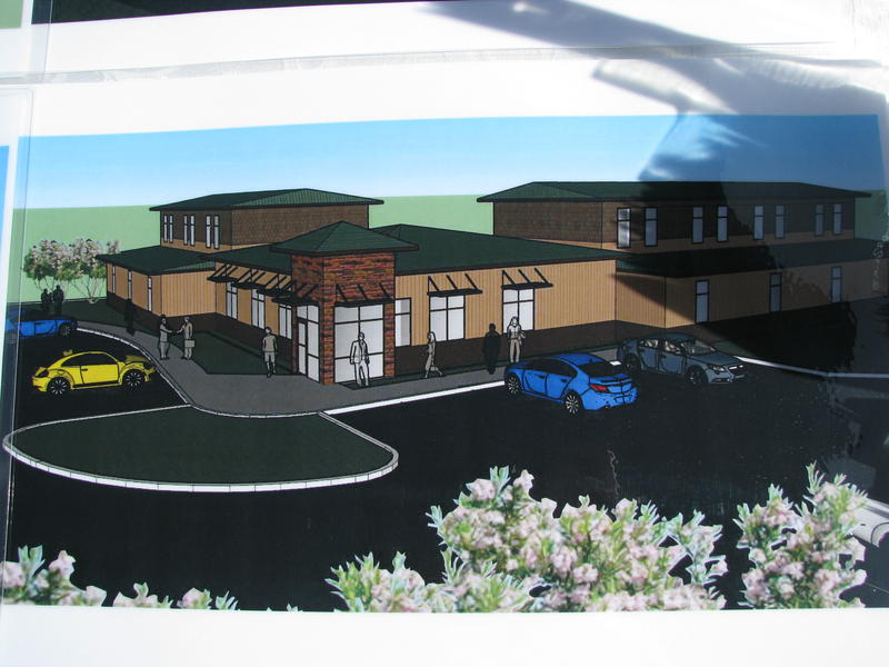 Artist Rendering of O'Reilly Family Campus