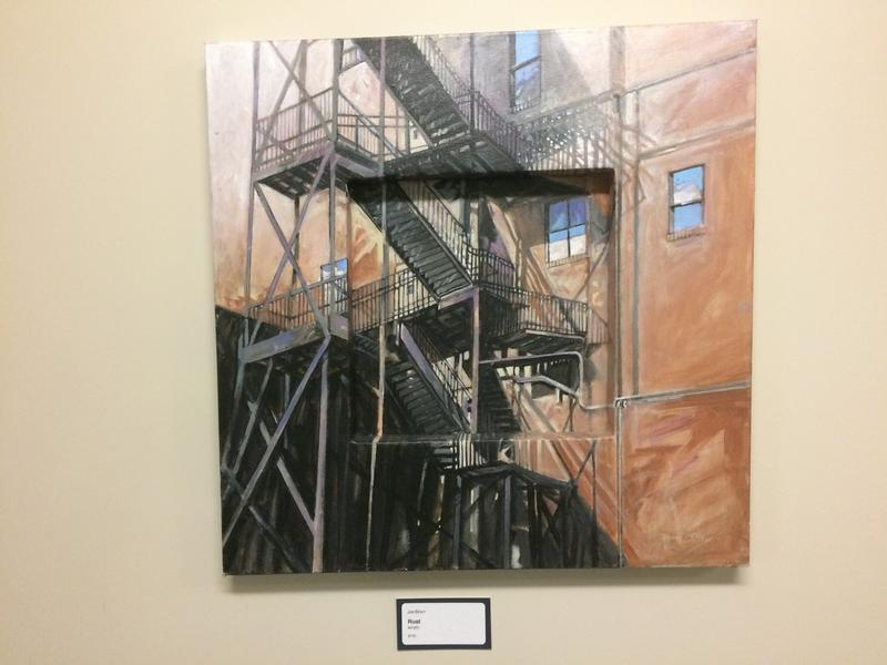 Works By Local Artists Adorn eFactory Walls, Including This Piece By Jim Bray, of Joplin