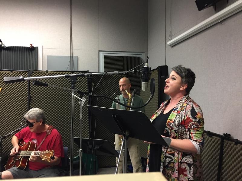 Krisit Merideth with Paul Price and Brandon Mezzelo on Studio Live