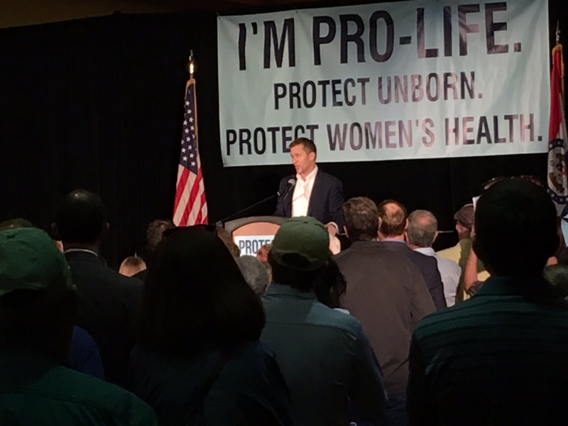 Governor Eric Greitens at Springfield Rally